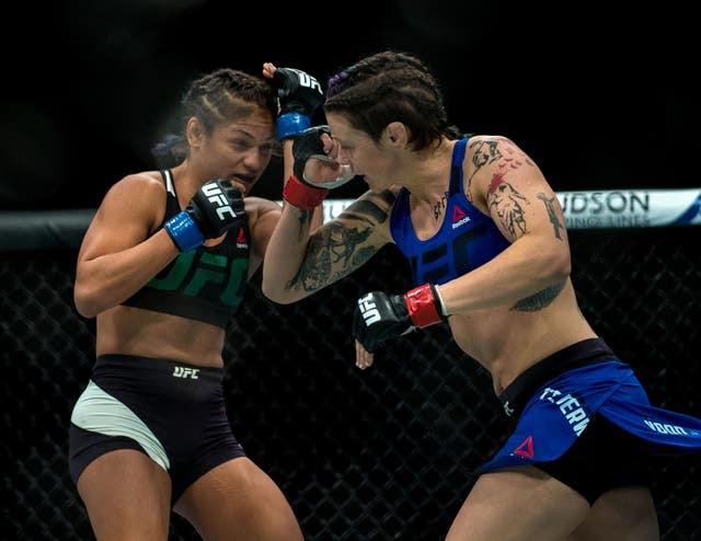 Joanne Calderwood, right, is expected to take on Valentina Shevchenko later this summer (Craig Watson/PA)