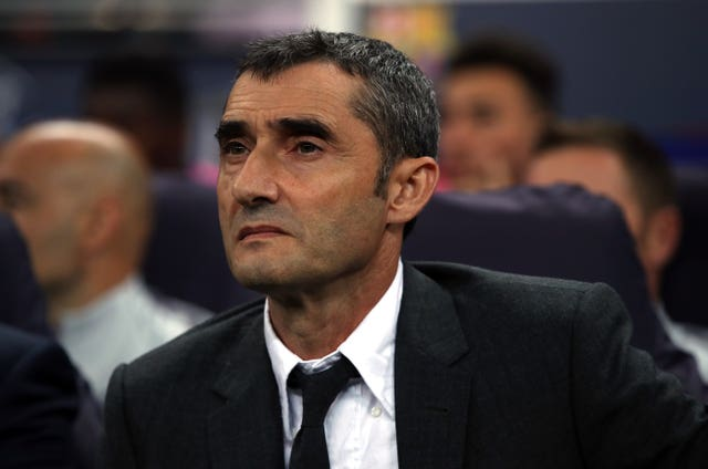 Barcelona boss Ernesto Valverde saw his side misfire at Athletic Bilbao