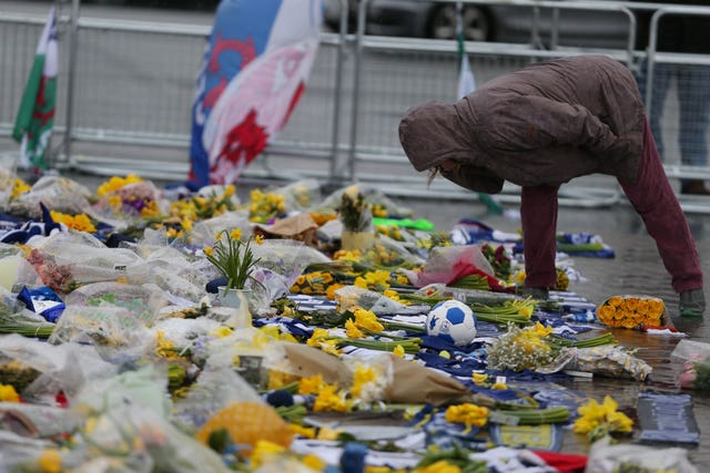 Tributes for Emiliano Sala