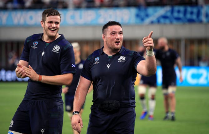 Scotland secured a potentially crucial bonus point against Samoa
