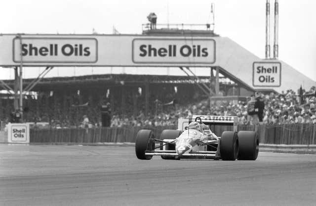Motor Racing – British Grand Prix – Silverstone – Nigel Mansell – 1987