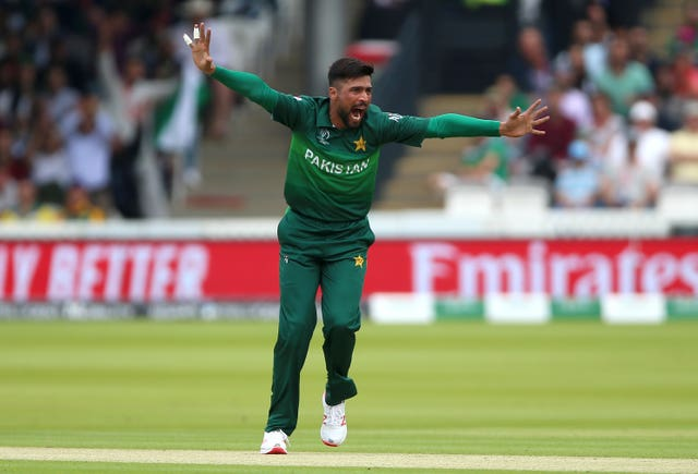 Amir was Pakistan's leading wicket-taker at the World Cup