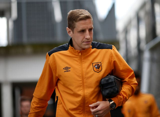 Michael Dawson arrives for a game with Hull