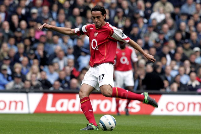 Edu joined Arsenal as a player in 2001.
