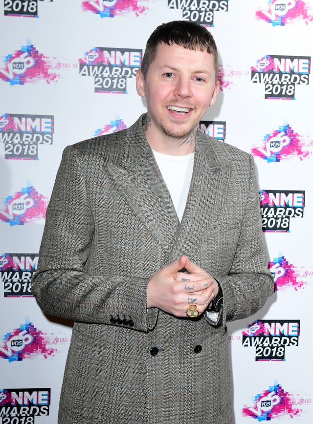 VO5 NME Awards 2018 – London