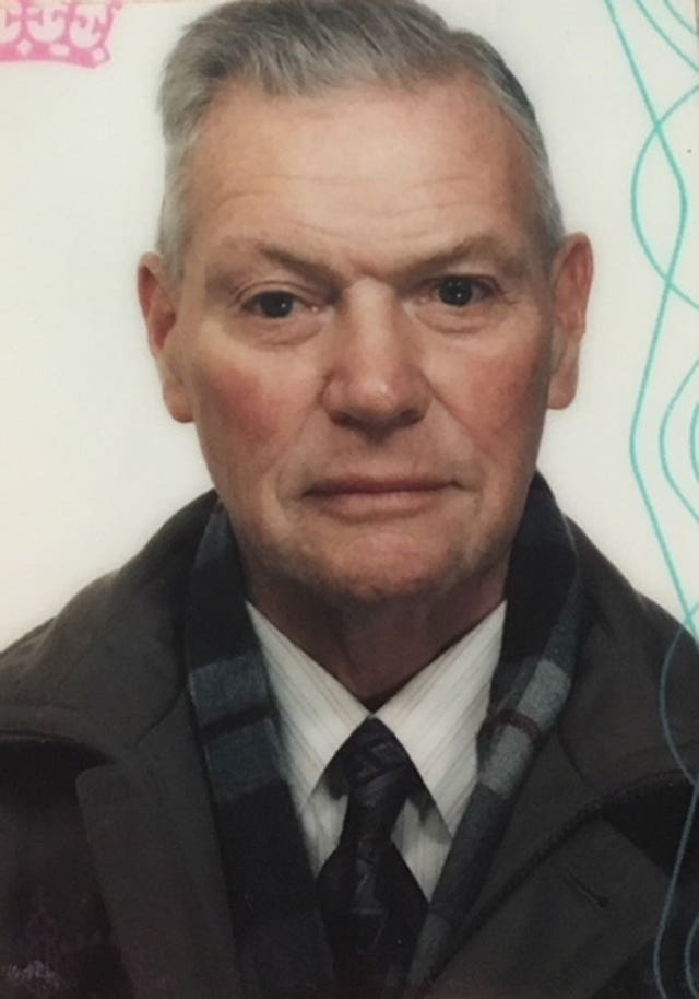 William Ritchie, 90, who has gone missing from his Aberdeenshire home (Police Scotland/PA)