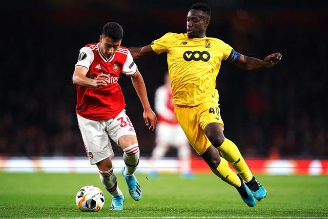 Arsenal's Gabriel Martinelli