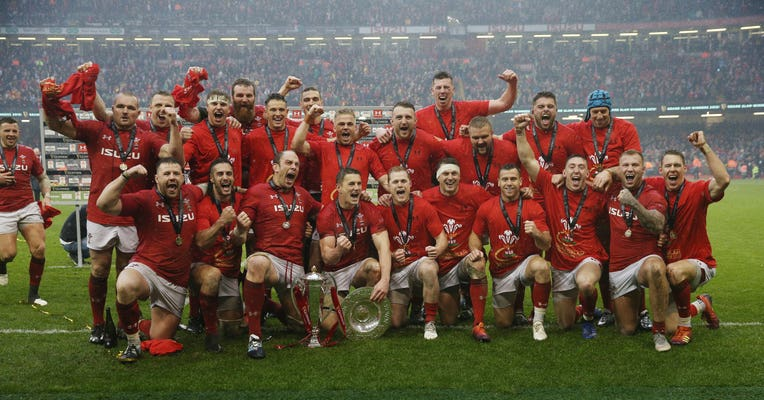 Wales have had a successful year so far