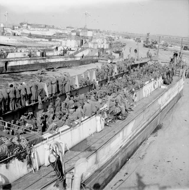 D-Day landing craft restoration