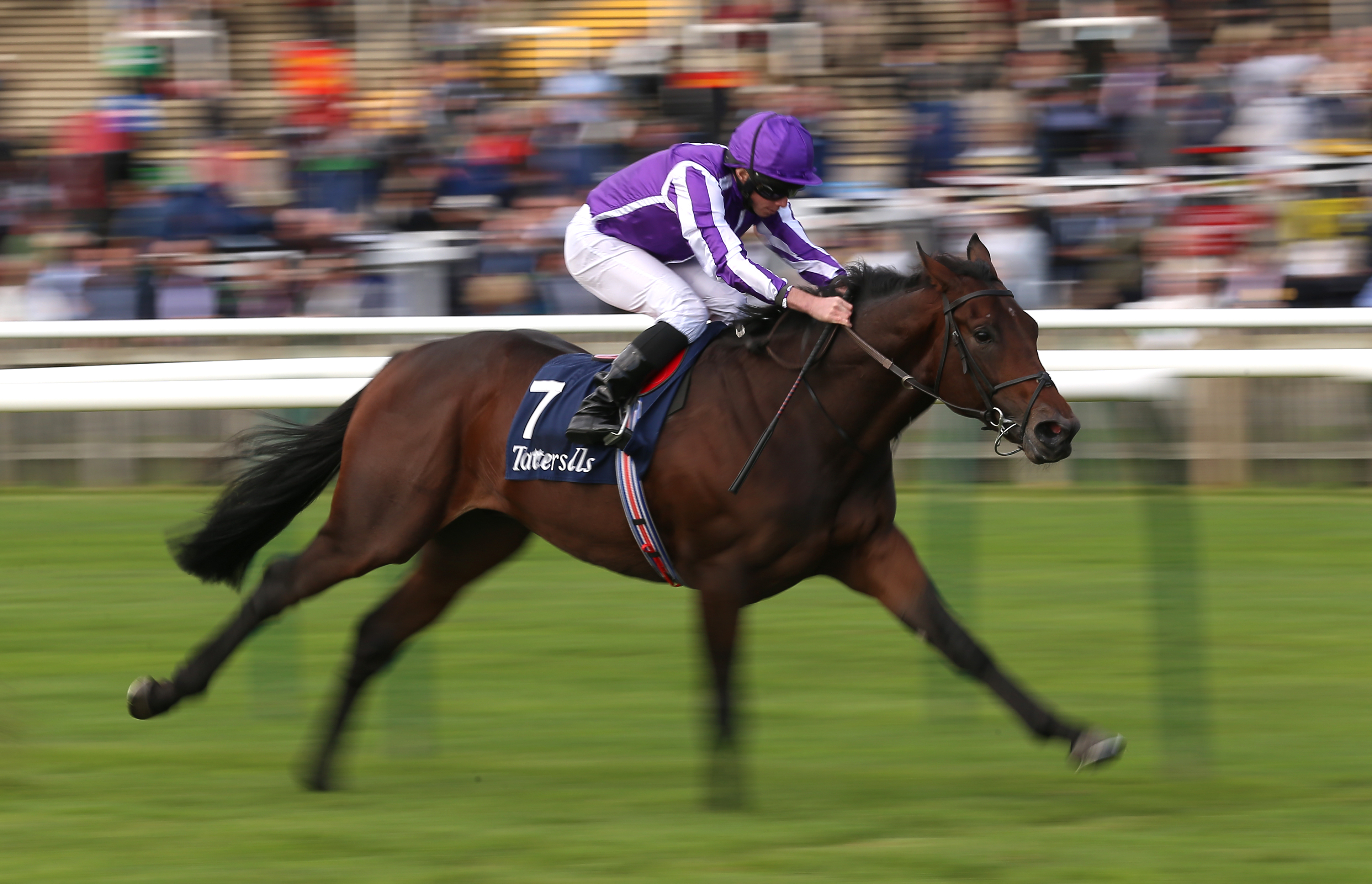 Wichita was an impressive winner of the Tattersalls Stakes at Newmarket