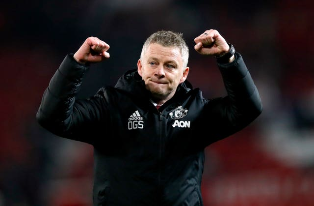 Manchester United manager Ole Gunnar Solskjaer is looking for a successful end to the season