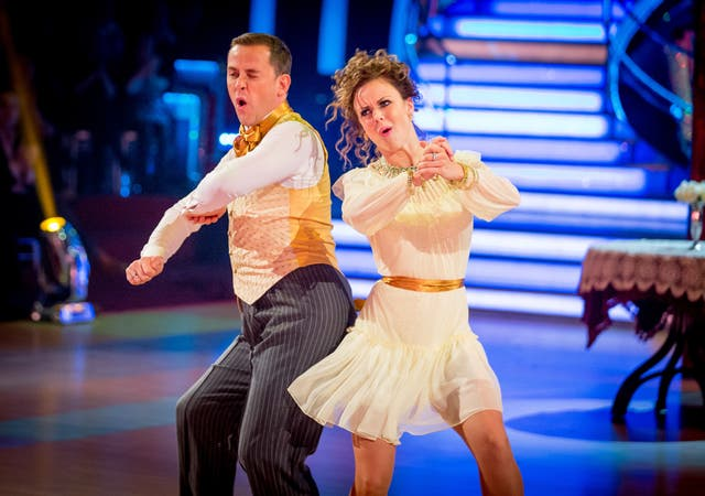 Scott Mills and Joanne Clifton on Strictly Come Dancing