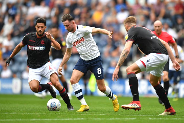 Preston North End v Bolton Wanderers – Sky Bet Championship – Deepdale
