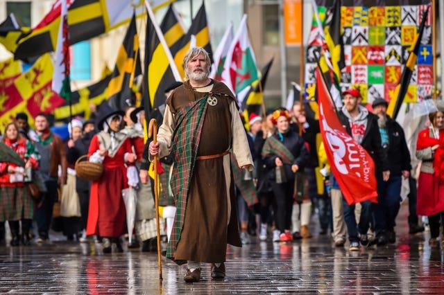St David's Day celebrations