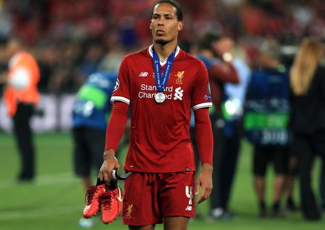 Virgil van Dijk was part of the Liverpool team beaten by Real Madrid in last season's Champions League final