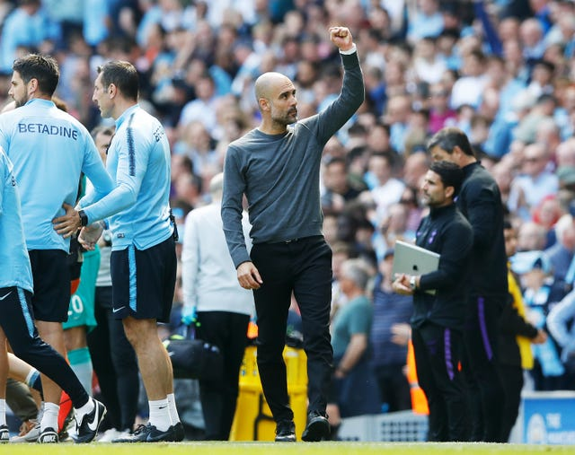 Pep Guardiola was impressed by the fortitude of his City players