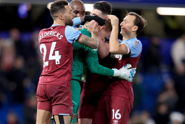 Goalkeeper David Martin, 33, took the plaudits on his Premier League debut after West Ham stunned Chelsea