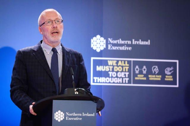 Stormont's chief scientific adviser Professor Ian Young