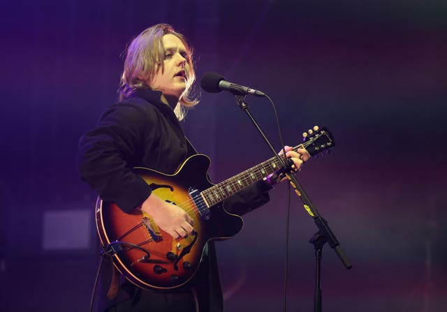 Lewis Capaldi  performing
