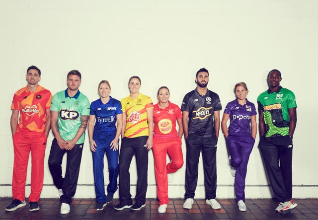 The Hundred's kits and team names were also revealed