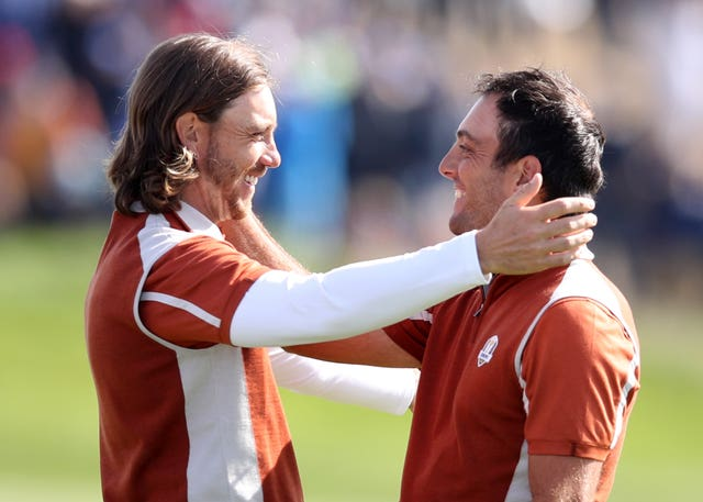 Fleetwood and Francesco Molinari struck up a great relationship at the Ryder Cup