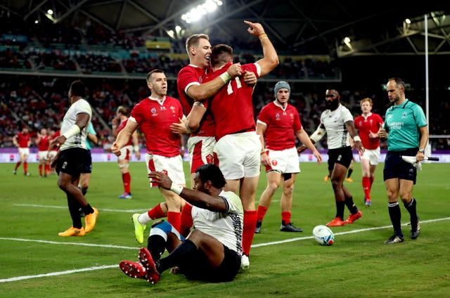 Wales have won all four matches at the 2019 Rugby World Cup so far