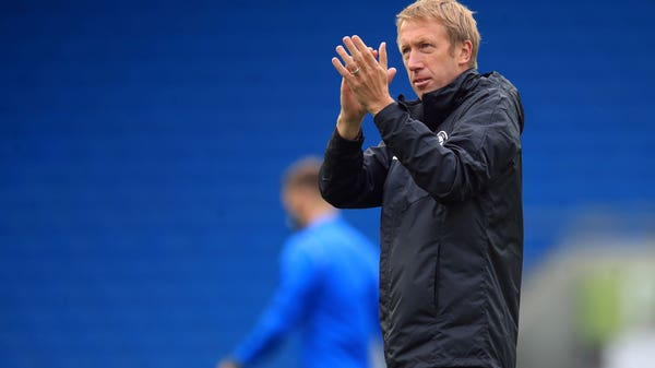 Graham Potter wants Brighton to be 'smart, brave and alert' at Crystal Palace