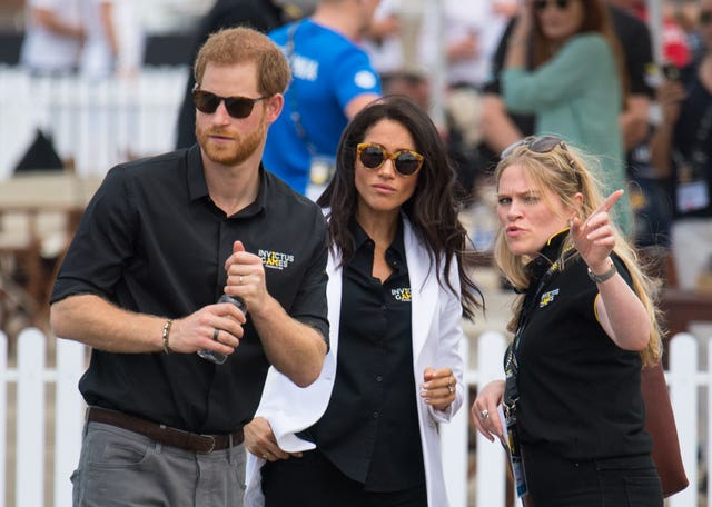 Meghan and Harry at the Invictus Games