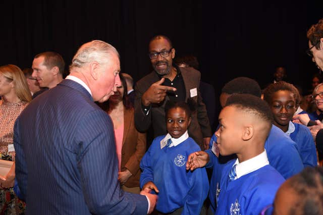 Prince of Wales visit to The Albert Hall and the Old Vic