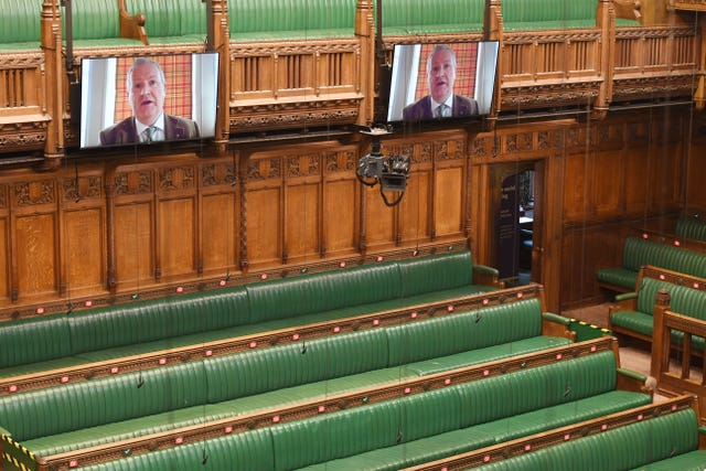 Parliament is using Zoom video conferencing