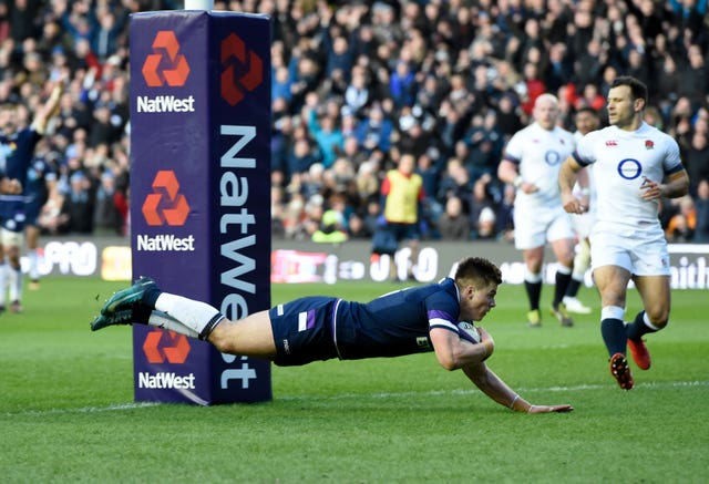 Scotland ran out 25-13 winners when England last travelled to Murrayfield in 2018