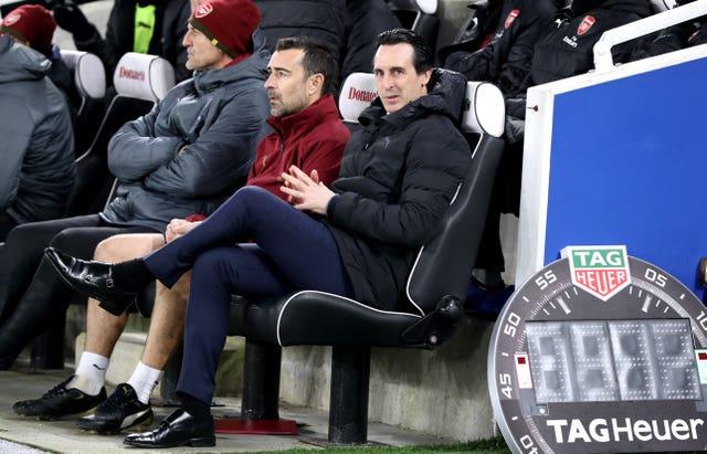 e3422450b9 Arsenal boss Unai Emery handed FA fine for bottle-kicking incident ...