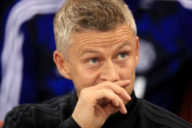Solskjaer was mulling over signing a striker in the summer