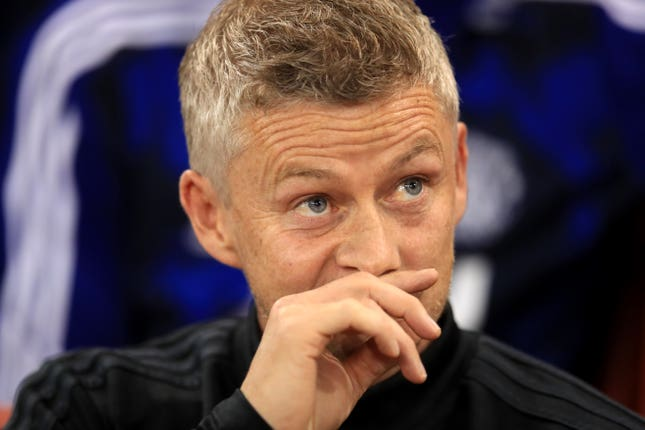 Solskjaer was mulling over signing a striker in the summer