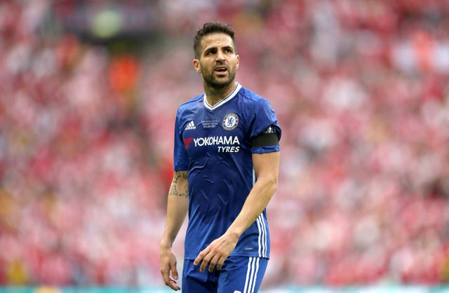 Cesc Fabregas and Chelsea were beaten by Arsenal in last season's FA Cup final
