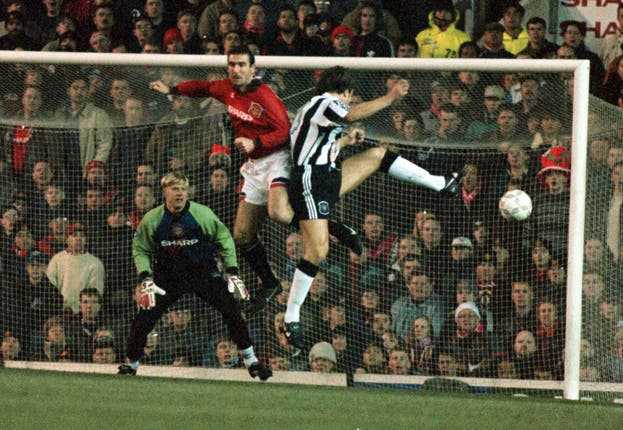 Manchester United and Newcastle had some memorable encounters down the years
