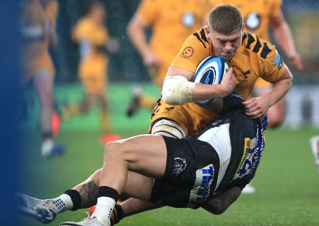 Wasps' Jack Willis, top, is hoping to make his Test debut in Rome