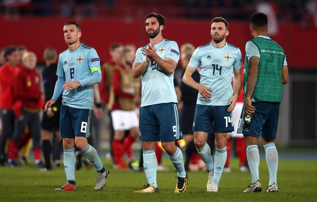 Northern Ireland could not avoid defeat in Austria