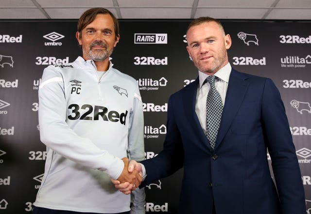 Derby County manager Phillip Cocu could be replaced by Wayne Rooney
