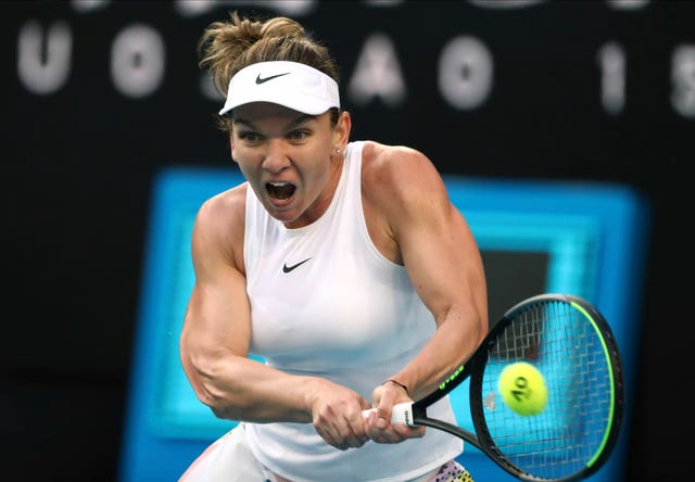 Simona Halep is Harriet Dart's second-round opponent