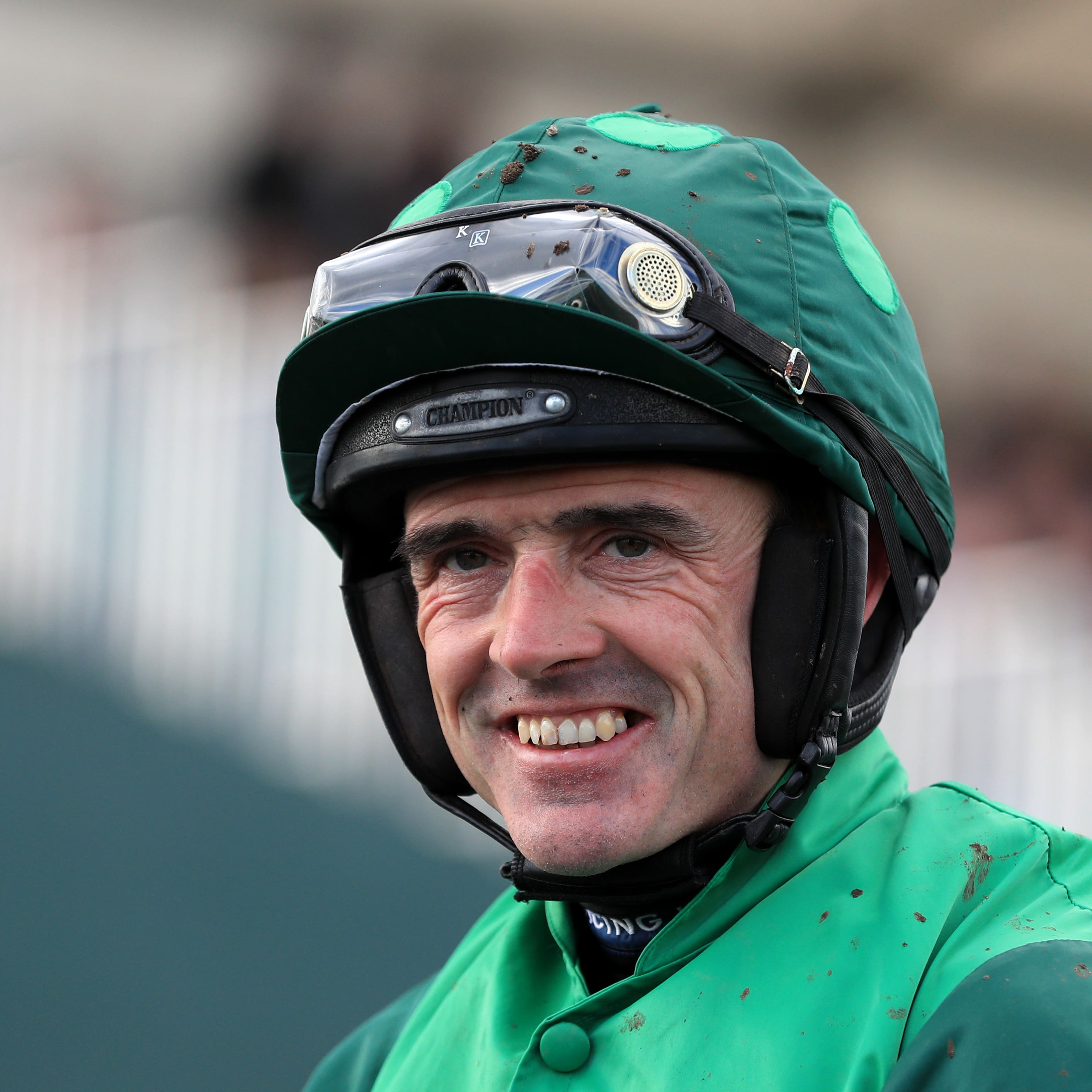 Ruby Walsh took a fall at Thurles on Thursday