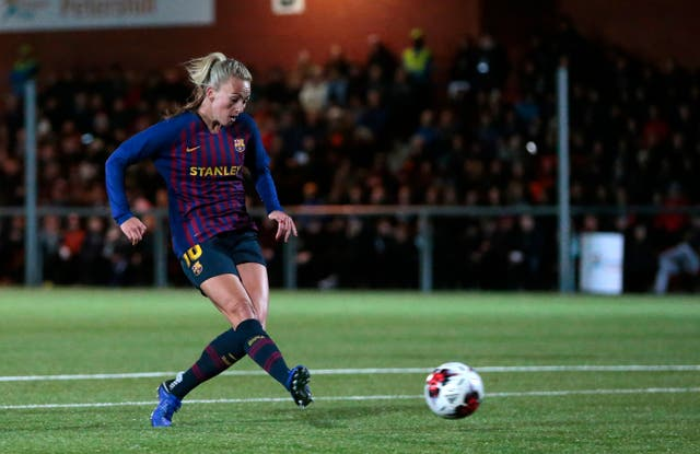 Toni Duggan joined Barcelona after leaving Manchester City