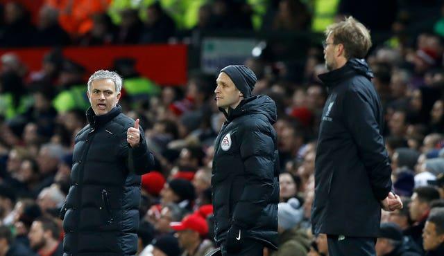 Jose Mourinho and Jurgen Klopp will clash again