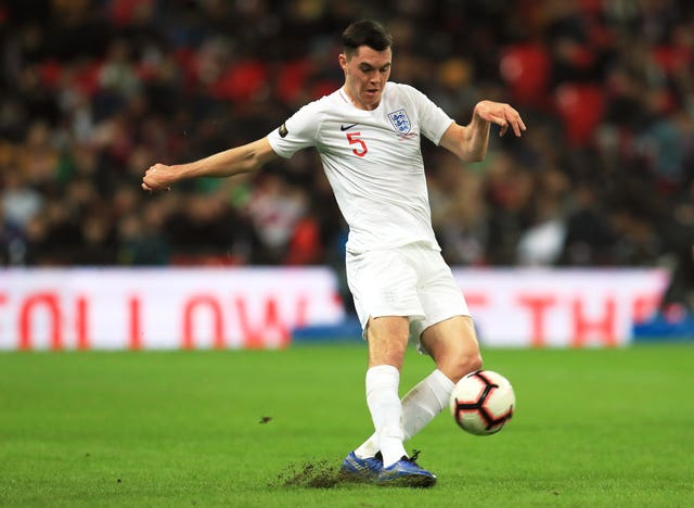Michael Keane represented Ireland at youth level.