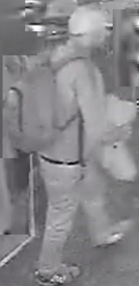CCTV still of a man police want to trace (Police Scotland/PA)