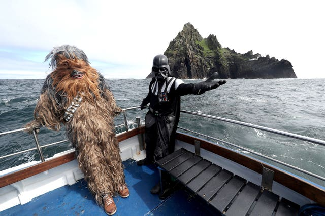 Star Wars fans in Co Kerry