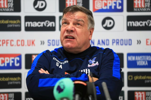 Allardyce was back in management that same year at Crystal Palace
