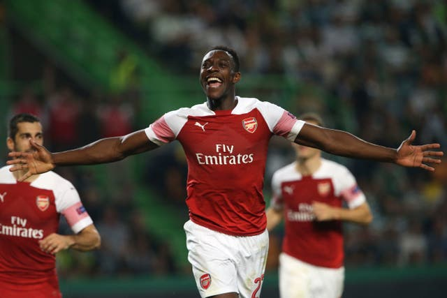 Danny Welbeck's goal was enough to see off Sporting Lisbon