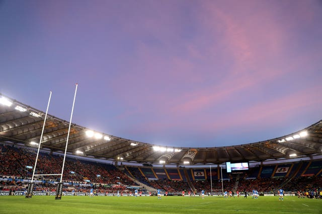 England's game at the Stadio Olimpico is under threat