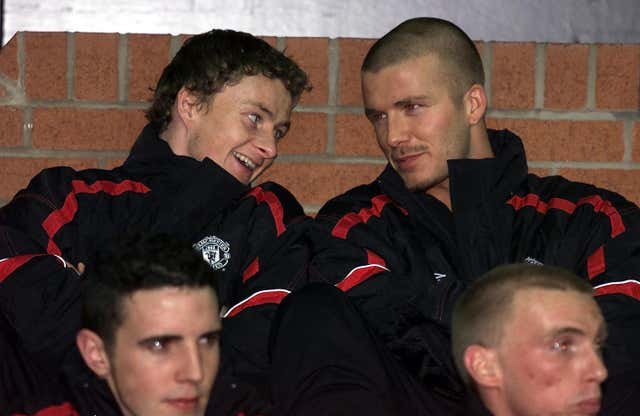 Ole Solskjaer spent a lot time on the bench during his Man United playing days